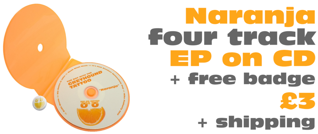 Naranja CD & Badge Pack